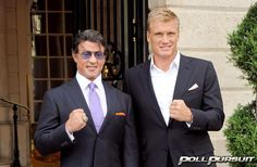 Want to see Sylvester Stallone and Dolph Lundgren in more films?  #pollpursuit #pollgames #surveygames #facebookapplication