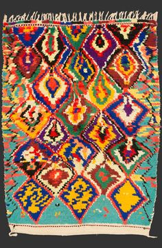 TM 1996, pile rug from the Azilal region, central High Atlas, Morocco, 1990s/2000s, 180 x 130 cm (6' x 4' 4''), p.o.a.