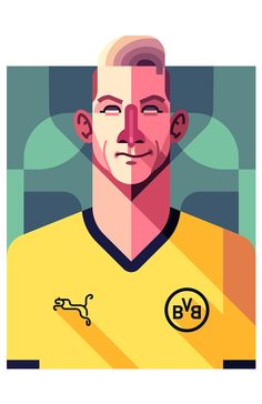 Marco Reus - Borussia Dortmund. Print here: http://society6.com/DanielNyari/Marco-Reus-e9J_Print
