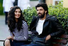 Best TV series Couple!  Tuba Buyukustun as Elif and Engin Akyürek as Ömer in the Turkish TV series KARA PARA ASK, 2014-2015.