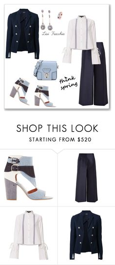 """Another bue"" by bv-b ❤ liked on Polyvore featuring Laurence Dacade, Joseph, Derek Lam, Theory and Karl Lagerfeld"