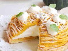 かぼちゃのモンブランタルト(cookpad)
