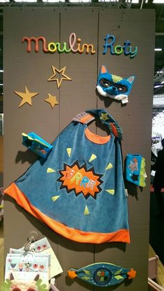 Panoplie de super héros avec les Mask'ottes sur le salon Maison et Objet à Paris