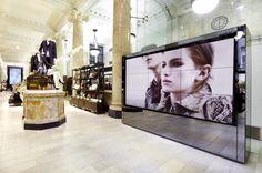 Burberrys flagship store, Sydney  store design