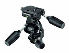Manfrotto 808RC4 3-Way Standard Head with Quick Release Plate 410PL (Black) by Manfrotto. $147.95. The 808RC4 streamlines our range of 3-way heads by incorporating new elements while maintaining all the features you loved. There are two balance springs in the vertical tilt (forward/backward) and horizontal tilt (left/right) movements. These springs enable you to more comfortably handle heavier camera loads (such as very long lenses) with minimal effort. Both springs can be t...