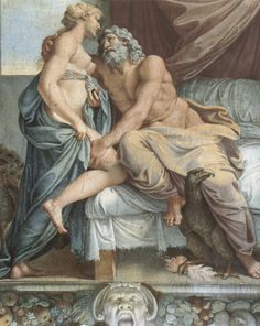 Jupiter and Juno, 1597-1602. Fresco. In 1597 Cardinal Odoardo Farnese commissioned Annibale Carracci's great masterpiece, the ceiling of the Galleria Farnese. The paintings in the Galleria Farnese are erotic, in the broadest sense of the word, for the overarching theme of the scenes is the omnipotence of love, 'omnia vincit amor' (love conquers all). -Galleria Farnese, Palazzo Farnese, Rome-