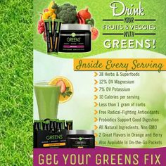 Cold and Flu season is upon us! #TryIt #Greens #ColdAndFluSeason #WantSome #ItWorks #Healthy #Detox www.TheHealthyPidgeon.itworks.com