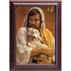 Christ the Good Shepherd Prayer Holy Water Font Click picture to see on Jesus Shepherd, Christ The Good Shepherd, Framed Art, Framed Prints, Water Font, Catholic Company, Catholic Art, Roman Catholic, Classic Image