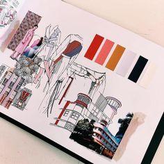 Fashion Sketchbook Sketches Design ProcessYou can find Fashion design sketchbook and more on our Fashion Sketchbook Sketches Design Process Mise En Page Portfolio Mode, Mode Portfolio Layout, Portfolio Design, Fashion Portfolio Layout, Fashion Design Portfolios, Fashion Sketchbook, Arte Sketchbook, Fashion Design Sketches, Sketch Design