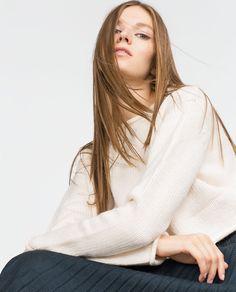 Image 3 of ROUND NECK SWEATER from Zara