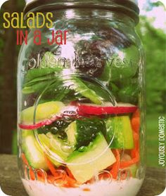 I have been wanting to try this for quite some time now!  And, I am glad I did!  Mason jars are just so cute.  I think they take a lot ...