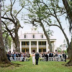 Such a cute & southern wedding :D