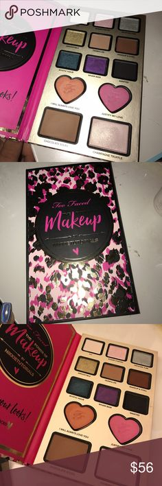 Too faced Nikki tutorials power of makeup pallete Brand new never used only swatched in amazing condition. I just have to many similar eyeshades Too Faced Makeup Eyeshadow