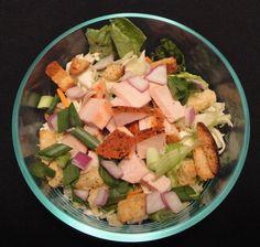 Turkey Salad:  Healthy salad.