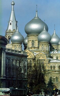 St. Panteleimon's Church in Odesa, Ukraine.