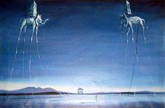 Слоны.Salvadore Dali.