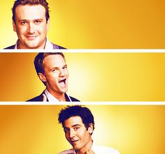 How I Met Your Mother. I love that show & these guys lol