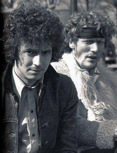 Eric Clapton & Ginger Baker.