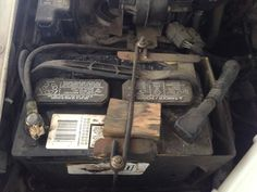 Good morning Phoenix. Here at Virginia Auto Service when we do a comprehensive vehicle inspection we sometimes run across the do it yourself repairs. The repair shown is block of wood holding in a battery. Yes it might work for now but in the long run this repair will not last. Come visit us and lets talk about your car care needs done the correct way.