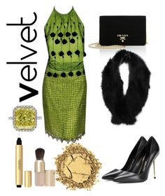 """To autumn"" by virginiagerbasi ❤ liked on Polyvore featuring Versace, Prada, Tom Ford, Pilot, J. Birnbach, Eve Lom and Yves Saint Laurent"