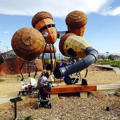 Travel journalist and Instagrammer traveltherenext had a great time exploring Pod Playground at the National Arboretum Canberra!