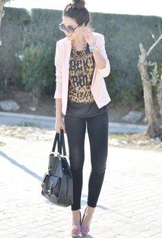 Rock´n Pink  , Mango in Blazers, Primark in Bags, Marypaz in Heels / Wedges