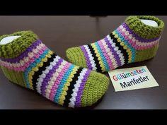 Bot patik modeli, patik örnekleri yapımı learn how to crochet for beginner tutorial - YouTube