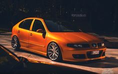 Seat Leon Cupra R Mk1 Orange 0.01