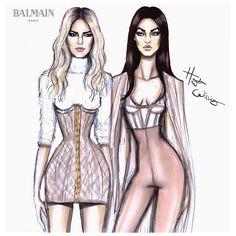 Swapping Styles...#Kendall & #Gigi #Balmain #KenGi | Flickr