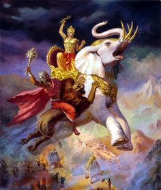 """Of the demigods, I am Indra, the king of heaven"" -Bhagavad gita As It Is, 10.22"