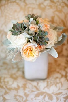 beautiful bouquet //// Photo by Onelove Photography, Venue and Event and Floral Design: Bear Flag Farm via Project Wedding