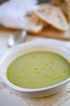 Sopa de alface - Bimby