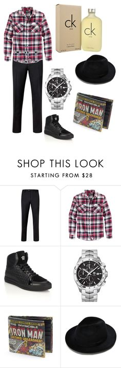 """""""❤️"""" by whysorude on Polyvore featuring Ted Baker, Retrofit, Versace, TAG Heuer, Calvin Klein, men's fashion et menswear"""