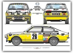 Opel Kadett Rally photos, picture # size: Opel Kadett Rally photos - one of the models of cars manufactured by Opel Sport Cars, Race Cars, L Car, Automobile, Car Experience, 2cv6, Monte Carlo, Rally Raid, Car Posters
