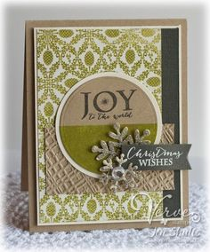 Joy To The World #christmas #card