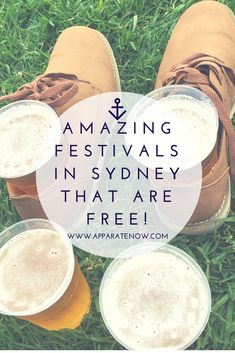 Free and AMAZING festivals in Sydney. Article from Apparatenow.com - travel blog Things to do in Sydney. Sydney Itinerary.