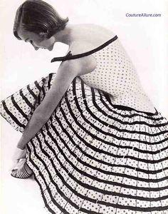 Couture Allure Vintage Fashion: June 2012 Alix of Miami 1955