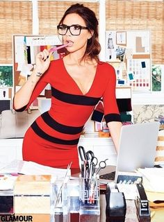 LIMEROOM office   Victoria Beckham for Glamour