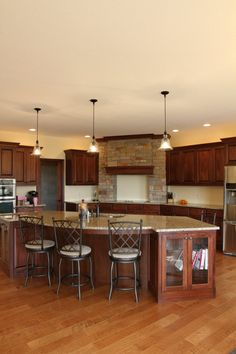 Mouldings | add crown molding to the top of your cabinets to make your cabinets look custom-made | Bayer Built Woodworks