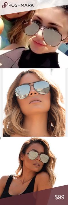 19125e358b4cb Quay - High Key sunglasses in BlackNWT!! As seen on Kylie Jenner s Snapchat  and