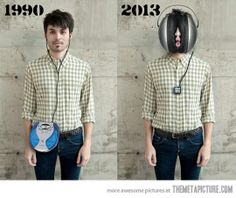 The evolution of portable music…