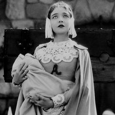 lillian Gish in the film version of The Scarlet Letter.