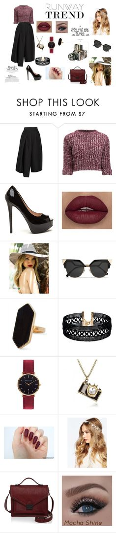 """""""You do You"""" by galaxy-moon-stars on Polyvore featuring TIBI, Girls On Film, Fendi, Jaeger, Vanessa Mooney, Abbott Lyon, ASOS, Loeffler Randall, Sounds Like Home and vintage"""
