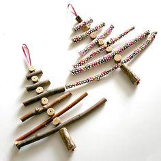 DIY unusual christmas trees, twig 2