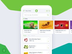 Chaldal - Grocery Shop App Redesign designed by Risat Rajin✨. Connect with them on Dribbble; App Ui Design, Mobile App Design, Mobile Ui, Grocery Shopping App, Nescafe, Web Design Inspiration, Apps, Ideas, Convenience Store