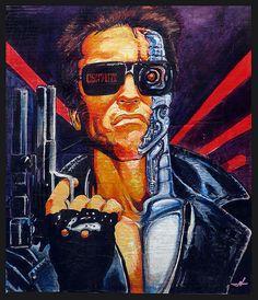 terminator - Arnold Schwarzenegger - | by cintrao