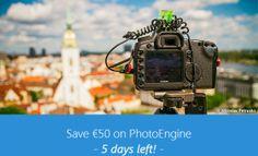PhotoEngine Summer Sale ends in 5 days