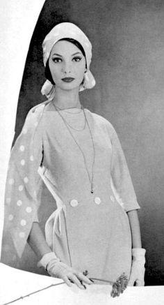 Dress by Lanvin, 1958