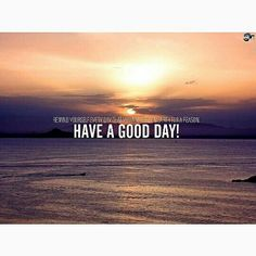 Have a good day..✌