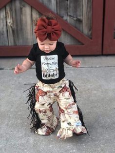 Western Baby Clothes, Western Babies, Baby Kids Clothes, Country Baby Clothes, Country Babies, Kids Clothing, Cute Baby Girl Outfits, Kids Outfits, Baby Girl Fashion